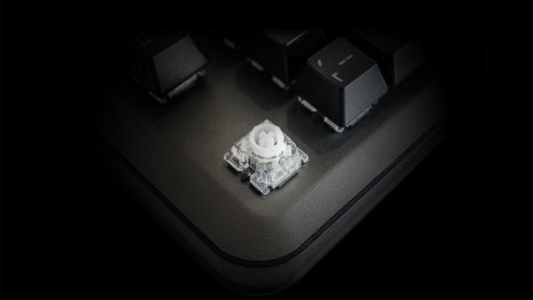 QPAD MK-75 keyboard detail