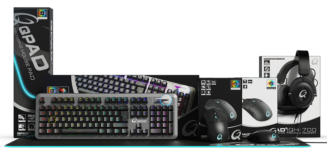QPAD gaming products 2020